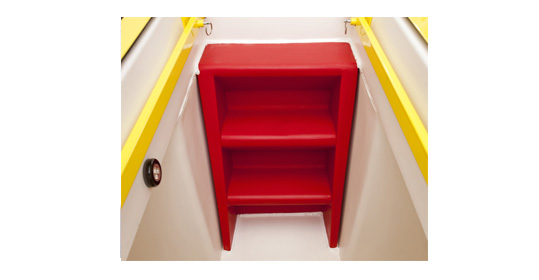 Tornado Shelter Steps, Storm Shelter Entry, Double Wall Foam Filled Construction