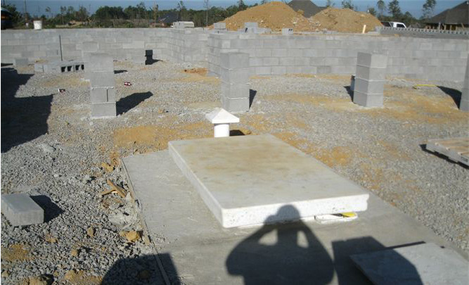 Installed Tornado Shelters, Storm Shelter Install, Installing Storm Shelters